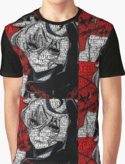 """Katsuhira """"Kacchon"""" Agata - Kiznaiver Graphic T-Shirt"""