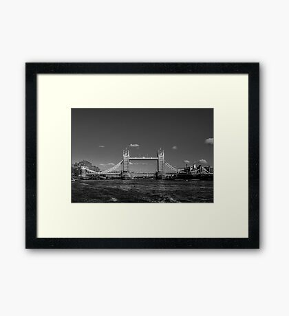 Tower Bridge, London, England Framed Print