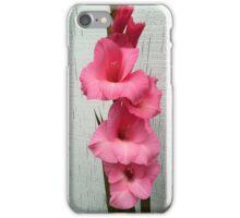 Late Fall Gladiola iPhone Case/Skin