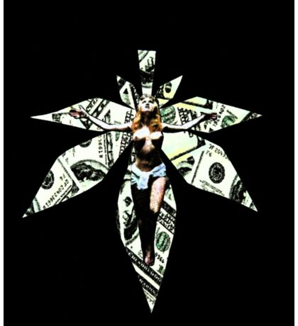 The Crucifixion of Mari Sticker