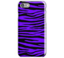 0243 Electric Indigo Tiger iPhone Case/Skin