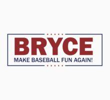 Bryce - Make Baseball Fun Again! Kids Tee