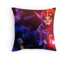 Jk and Dxter Throw Pillow