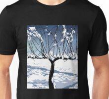 Napa Valley - Winter Vine Unisex T-Shirt