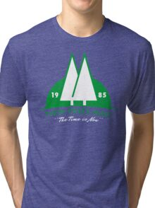 The Time Is Now Tri-blend T-Shirt
