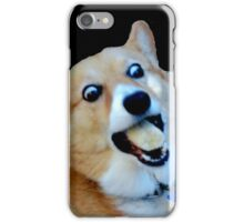 Corgi Banana (snoopy) iPhone Case/Skin