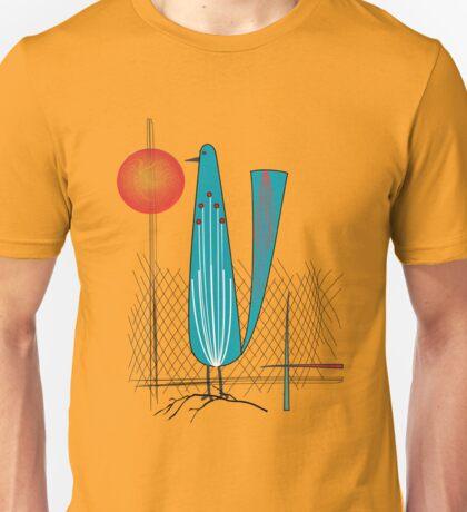 Mid-Century Bird Unisex T-Shirt