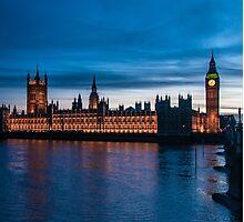 Houses of Parliament & Big Ben, London, England Photographic Print
