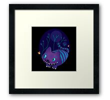 Cheshire the cat  Framed Print
