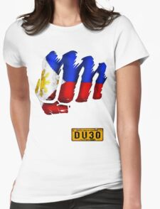 PHist of DU30 Womens Fitted T-Shirt