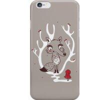 Hello big wolf iPhone Case/Skin