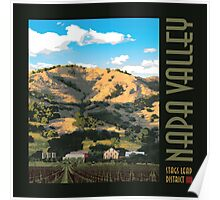 Napa Valley - Regusci Winery III Poster