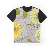 Mid-Century Modern Floral Graphic T-Shirt