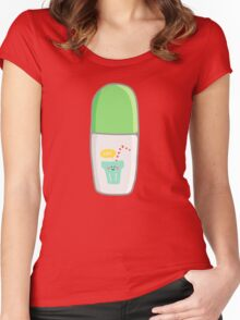 Green Marker Women's Fitted Scoop T-Shirt