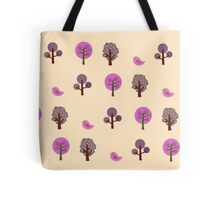Little Nature Pink Tote Bag