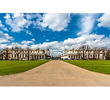 The Old Royal Naval College, Greenwich, England Photographic Print