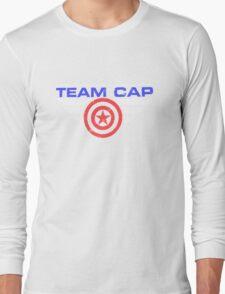 """TEAM CAP """"Civil War 2016"""" Long Sleeve T-Shirt"""