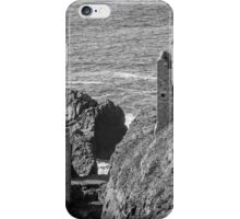 The Crown Mines engine houses, Botallack, Cornwall iPhone Case/Skin