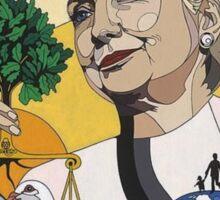 Hillary for President Sticker