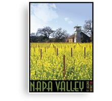 Napa Valley - Water Tower II Canvas Print