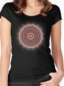 Crystalline Harmonics - Celestial Women's Fitted Scoop T-Shirt