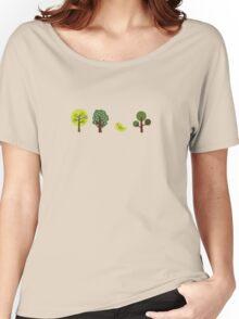 Little Nature Green Women's Relaxed Fit T-Shirt