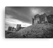 Warkworth Castle, Northumberland, England Canvas Print