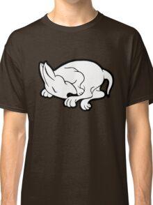 English Bull Terrier Sleeping  Classic T-Shirt