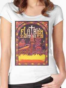 Flatbush Zombies Church  Women's Fitted Scoop T-Shirt