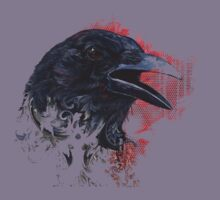 Crow Art Kids Tee