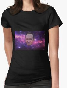 spacey in space Womens Fitted T-Shirt