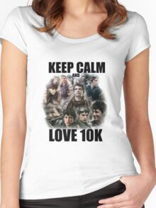 Keep Calm and Love 10K - Z Nation Shirt Women's Fitted Scoop T-Shirt