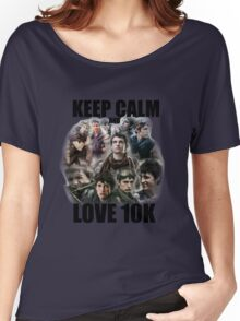 Keep Calm and Love 10K - Z Nation Shirt Women's Relaxed Fit T-Shirt