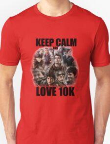Keep Calm and Love 10K - Z Nation Shirt Unisex T-Shirt