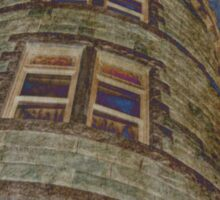 Tower At Lambert Castle Sticker