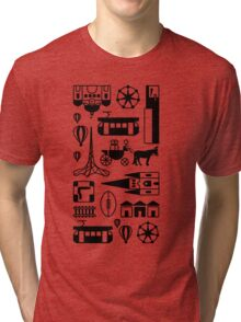 Icons of Melbourne Tri-blend T-Shirt