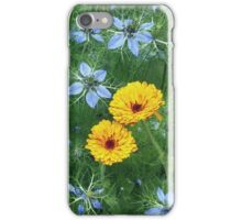 love in a mist, fading iPhone Case/Skin