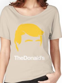 TheDonald's | Red Women's Relaxed Fit T-Shirt