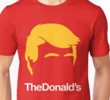 TheDonald's | Red Unisex T-Shirt