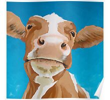 Enid - The Contented Cow Poster