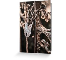 Keyless Greeting Card