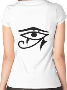 Egyptian Eye Women's Fitted Scoop T-Shirt