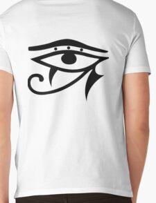 Egyptian Eye Mens V-Neck T-Shirt