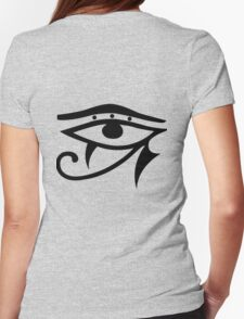 Egyptian Eye Womens Fitted T-Shirt