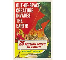 20 million miles to earth 02 Photographic Print