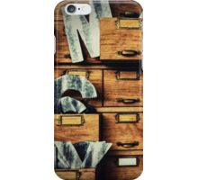 Filing System iPhone Case/Skin