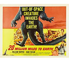 20 million miles to earth 04 Photographic Print
