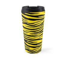 0291 Golden Yellow Tiger Travel Mug