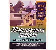 20 million miles to earth 05 Photographic Print