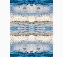 Abstract kaleidoscope of Waves splashing Unisex T-Shirt